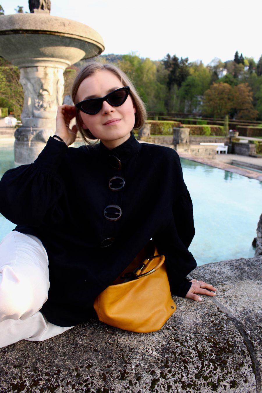 linen blouse zara new collection 2018