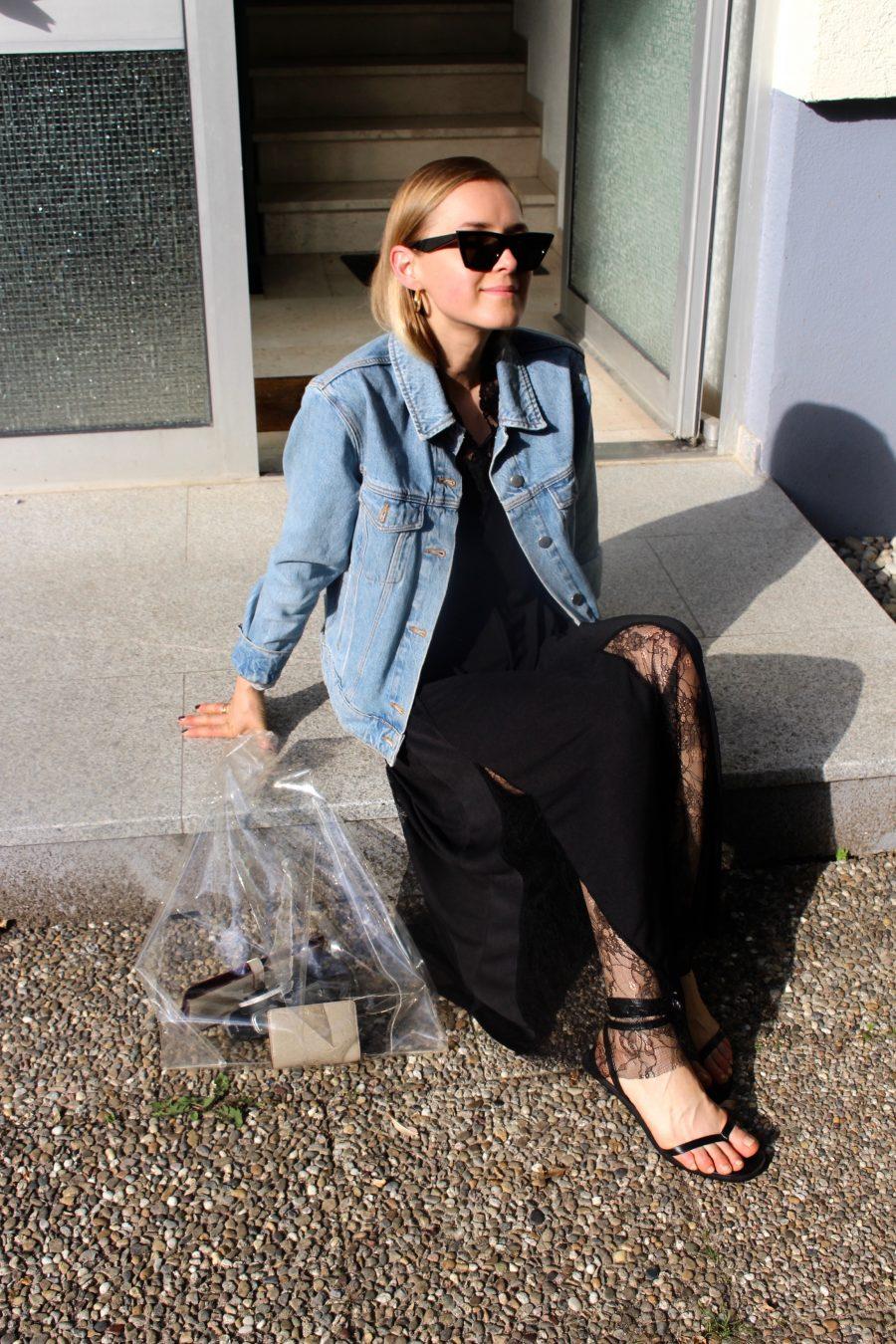 Céline Tilda black sunglasse
