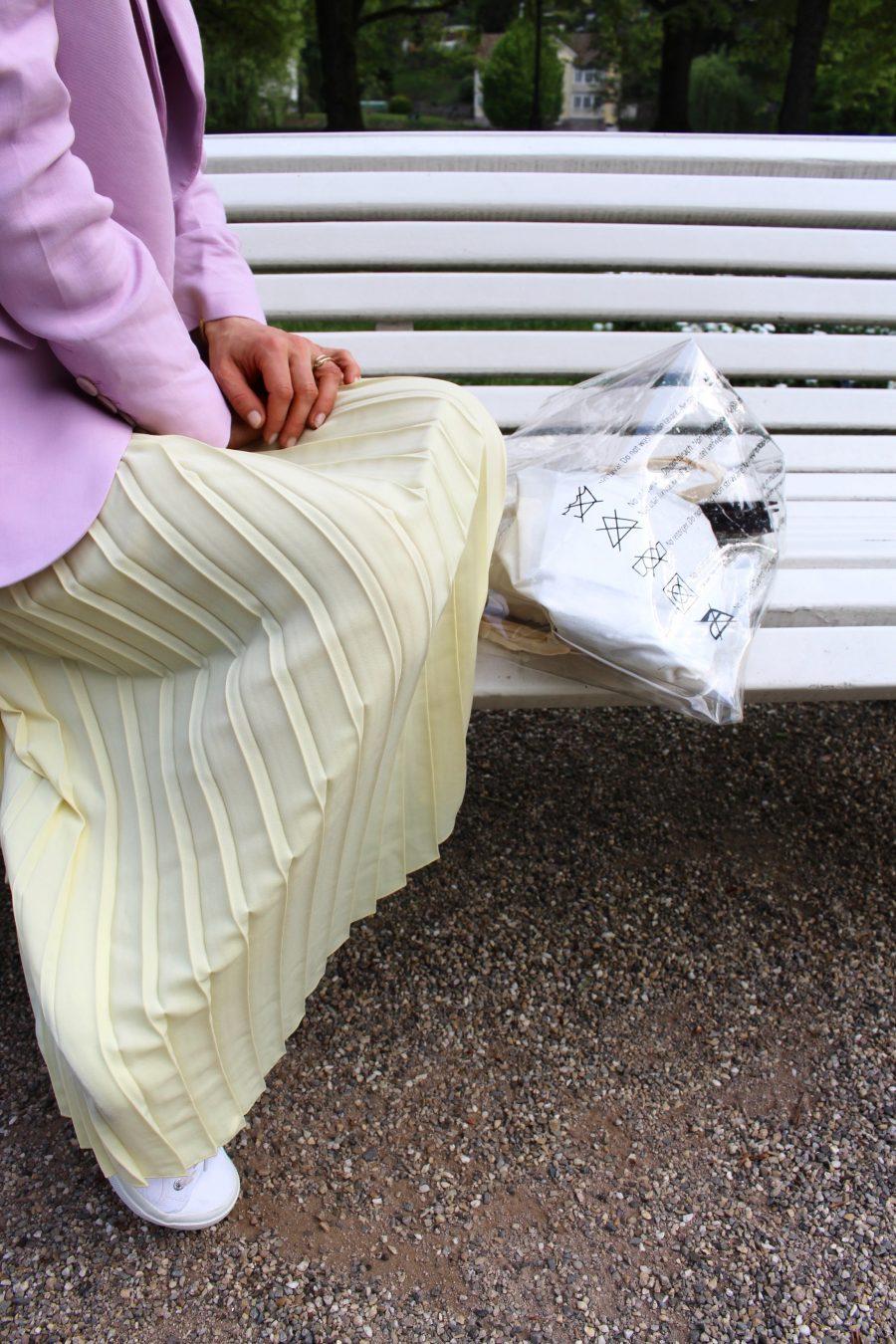 plastic bag mango
