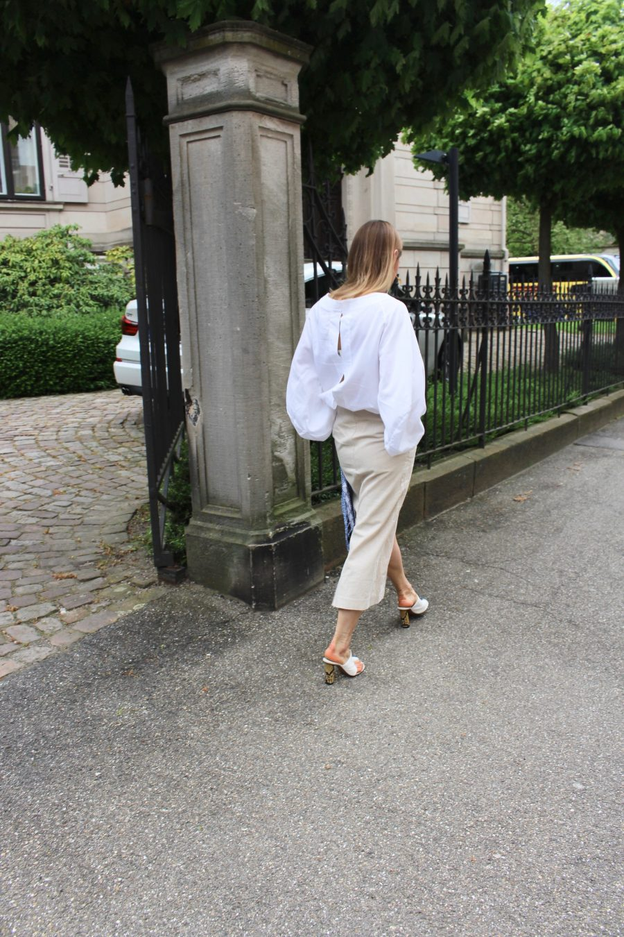 Skirt H&M trend linen