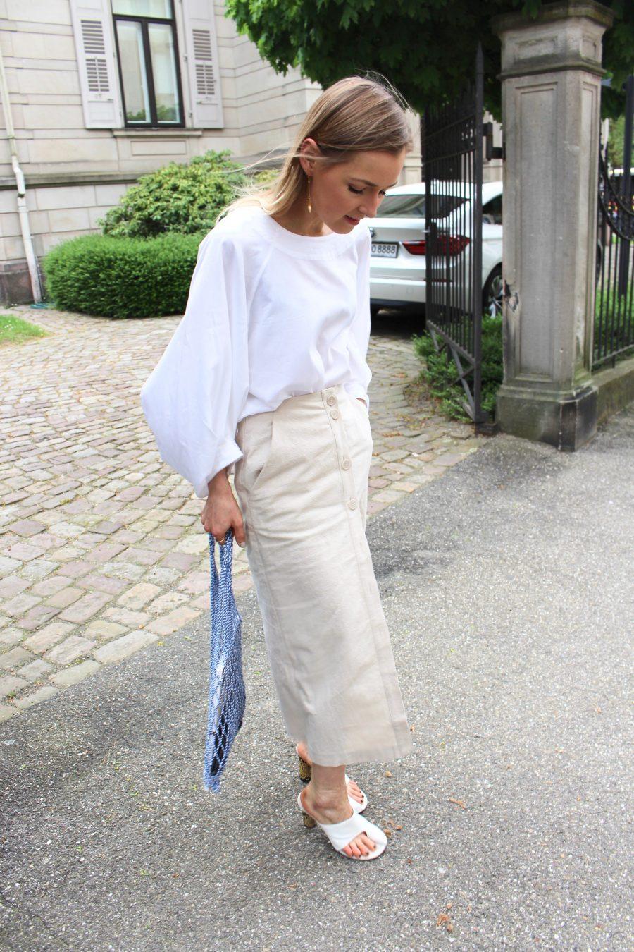 Céline white shoes pirate mules