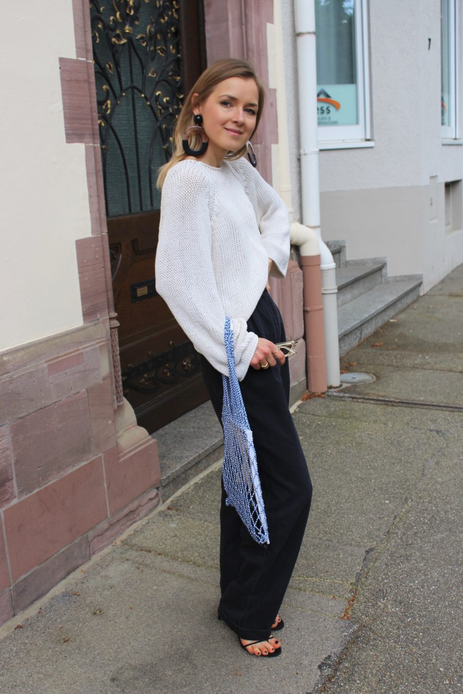 Massimo Dutti summer knitwear beige