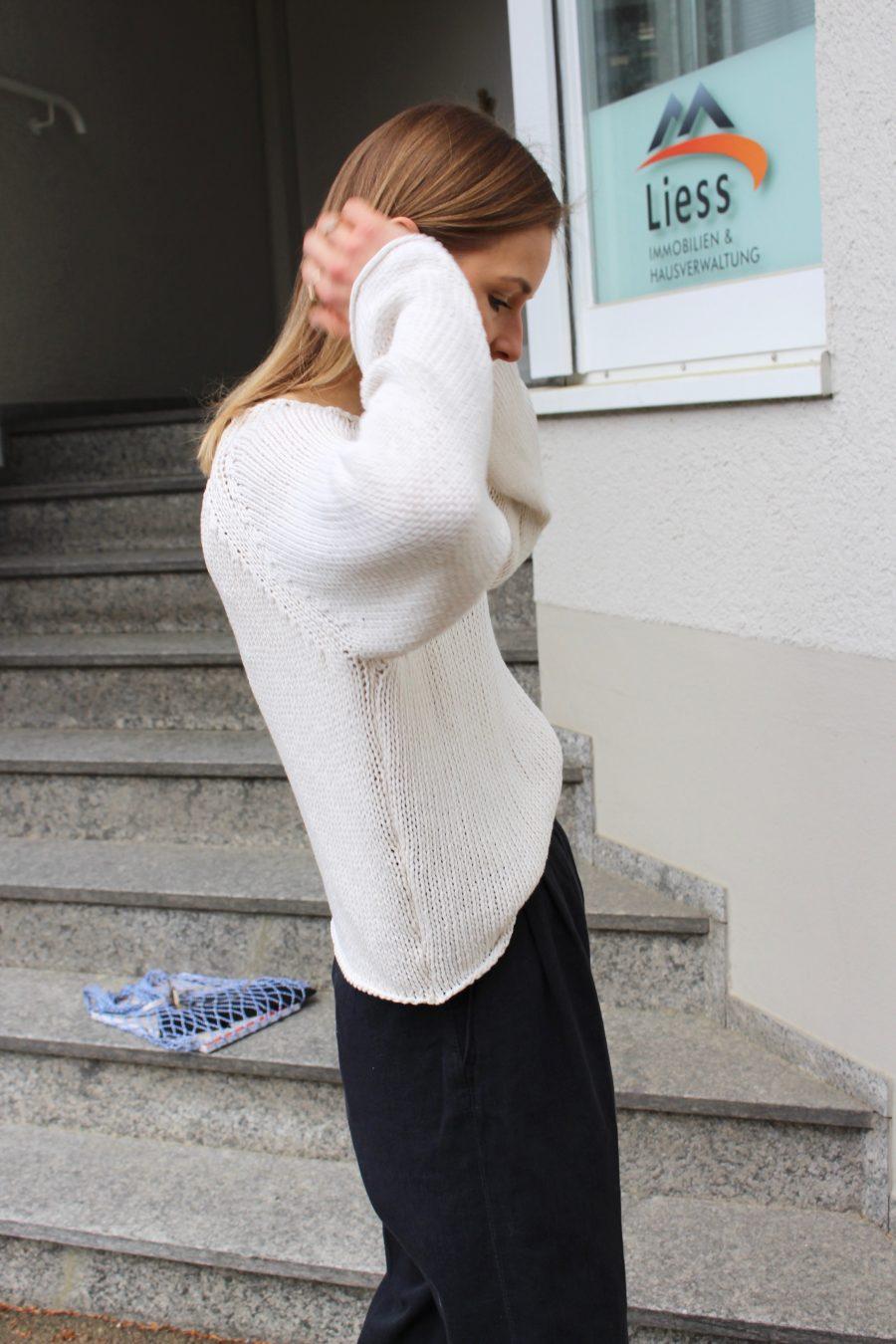 céline knitwear beige