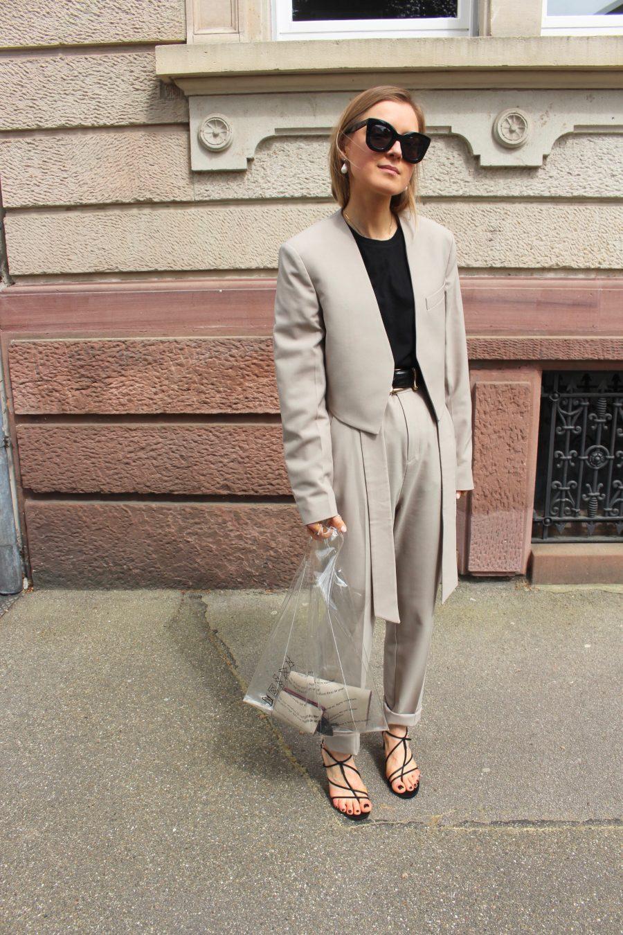 Suit Mango summer 2018 Céline Style