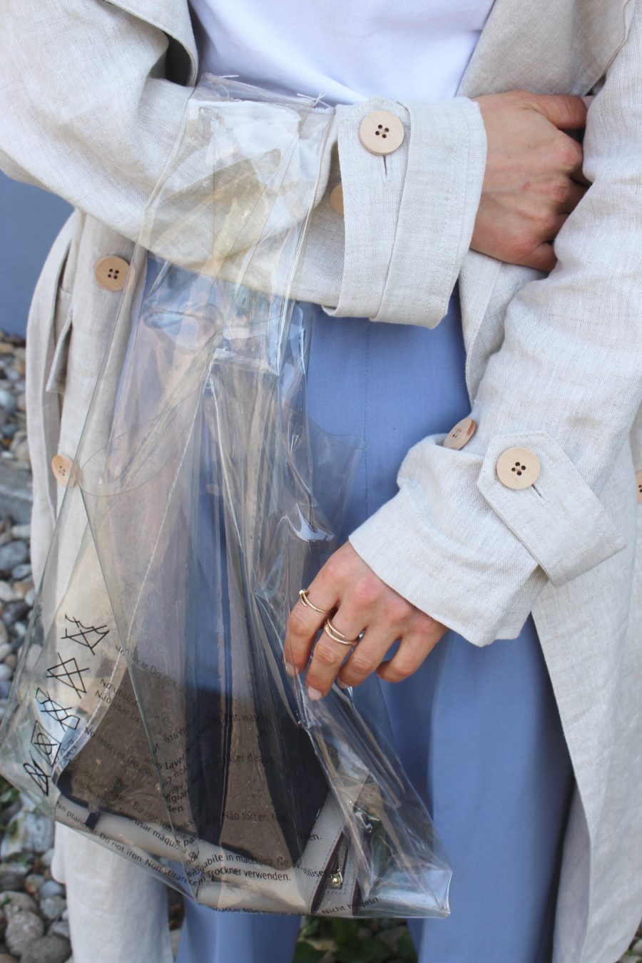 plastic bag céline