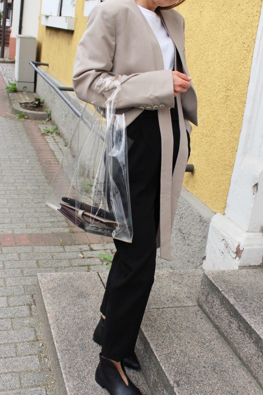 plastic bag Céline 2018