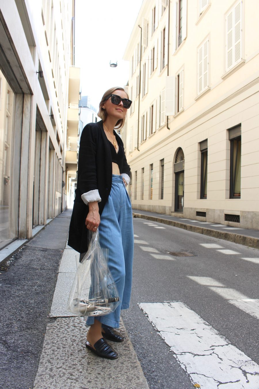 zara trousers denim summer 2018