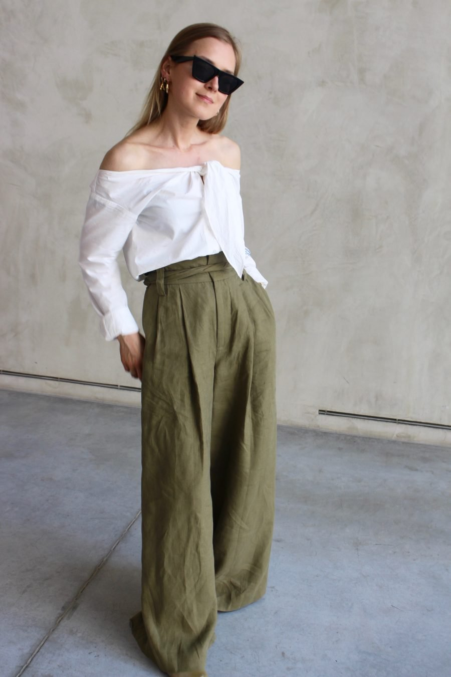 white blouse H&M trend