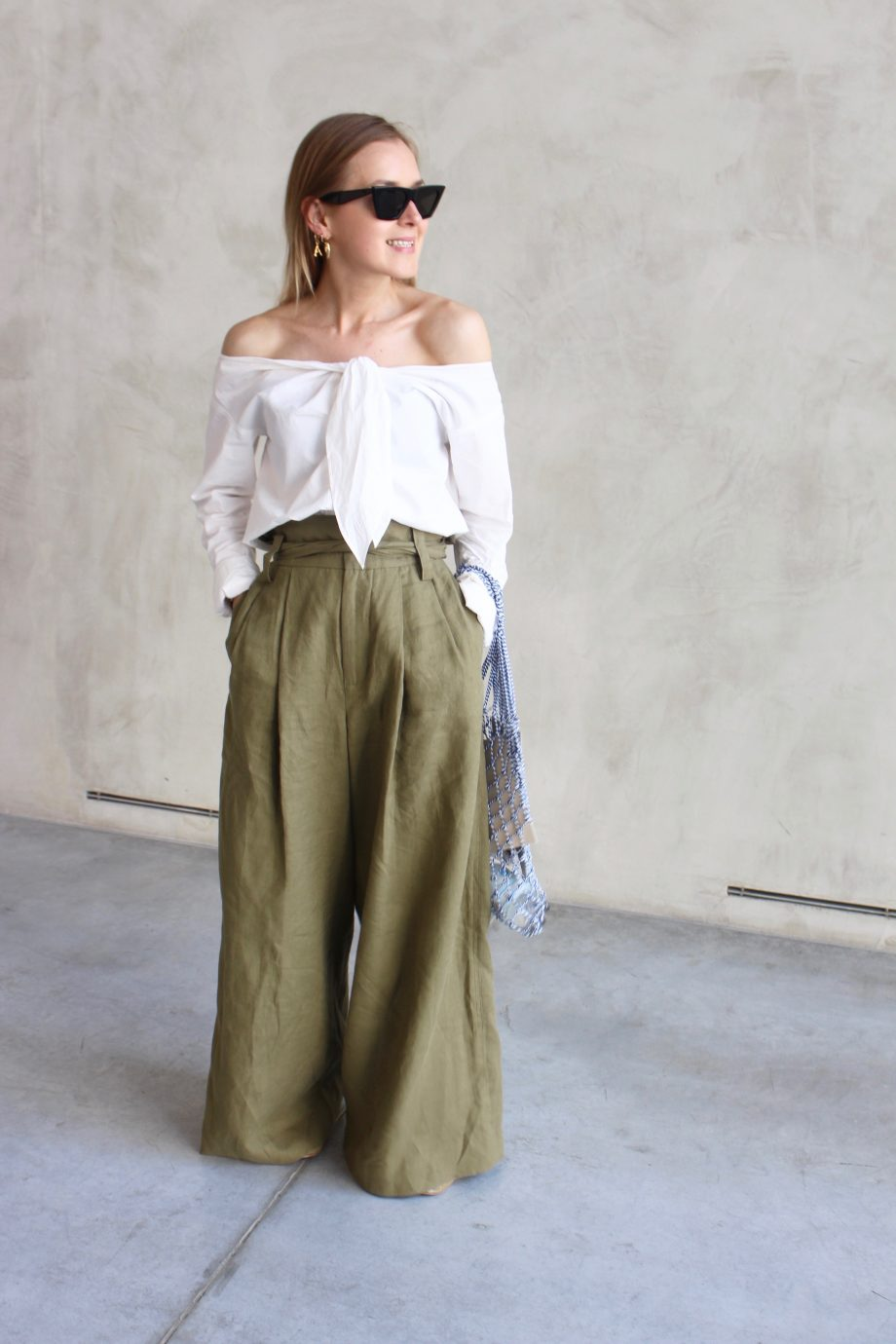 The Olive Wide Pants | 12.06.2018