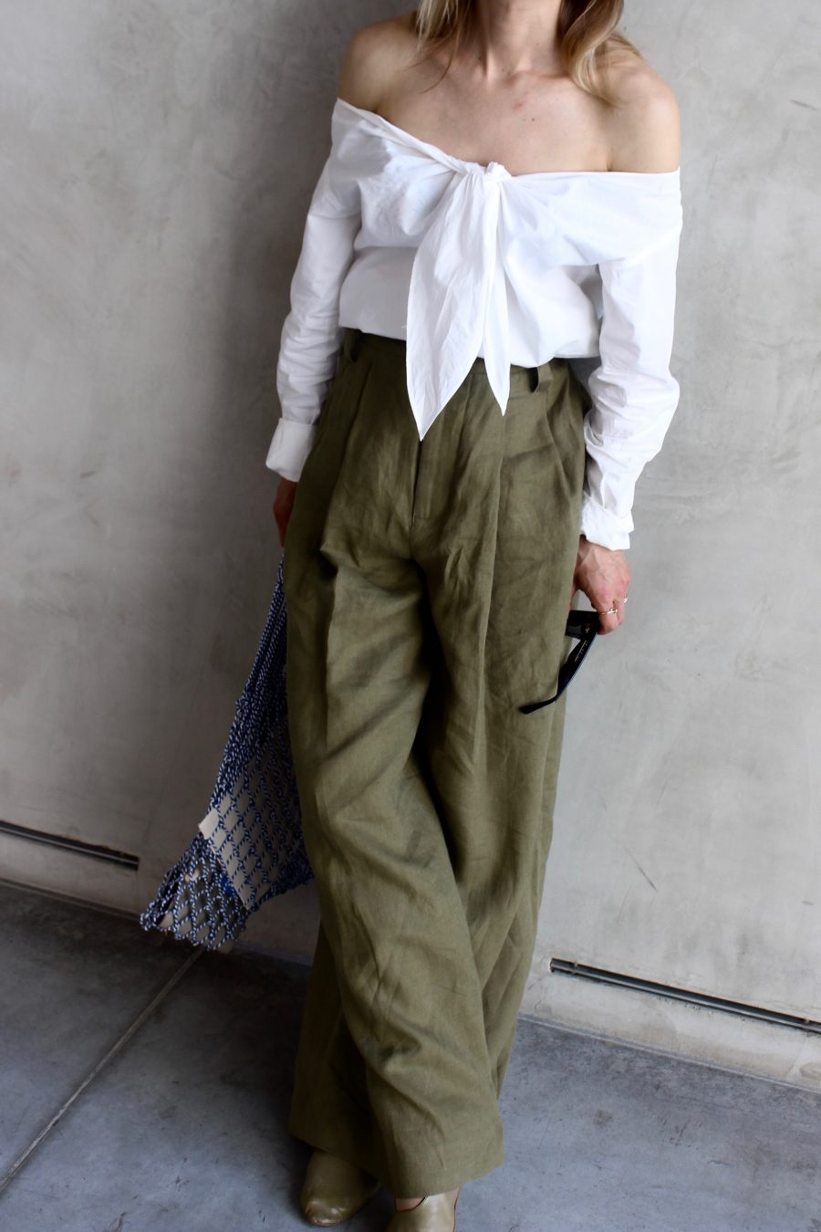 wide trousers khaki linen zara summer collection