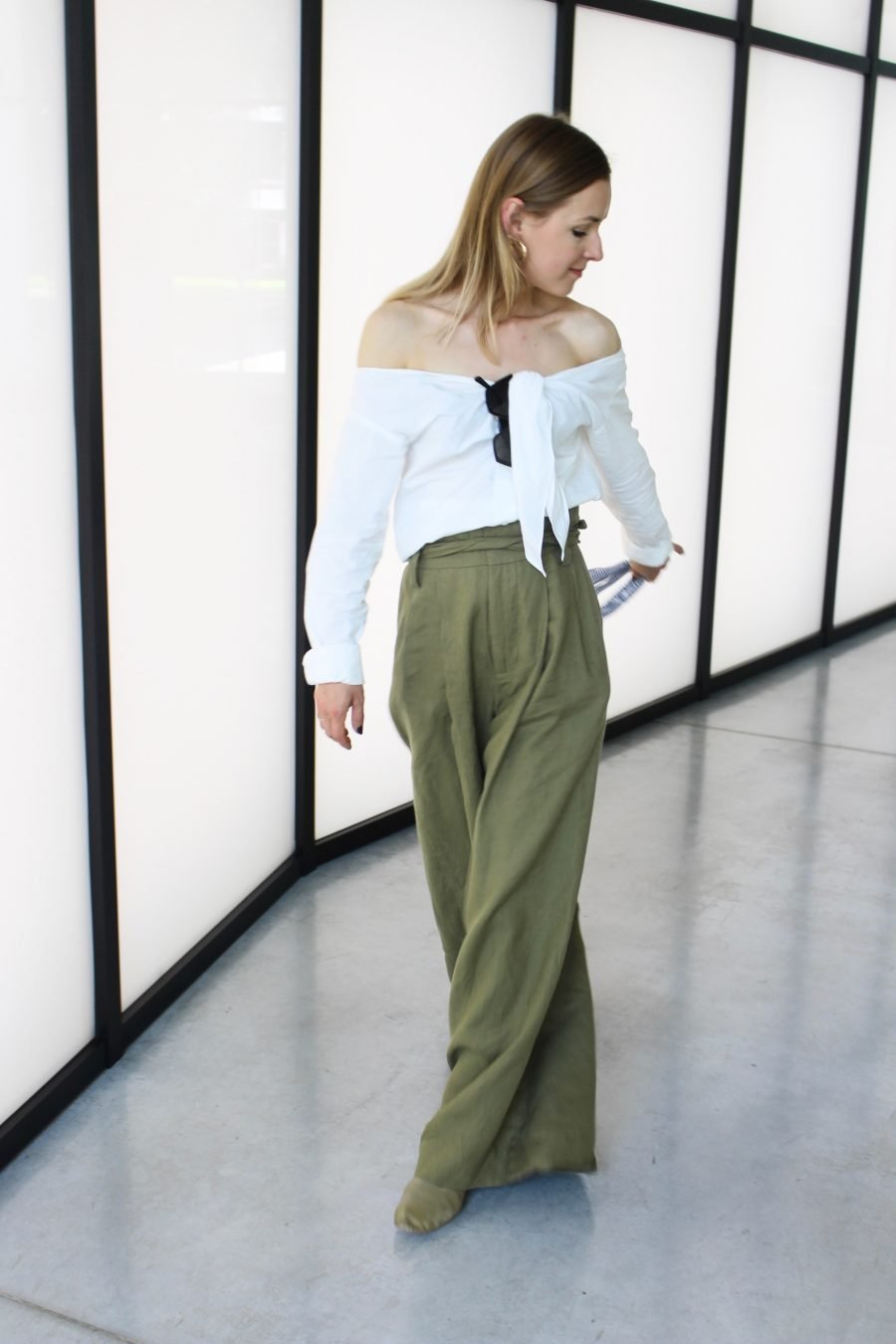 wide linen pants zara new collection