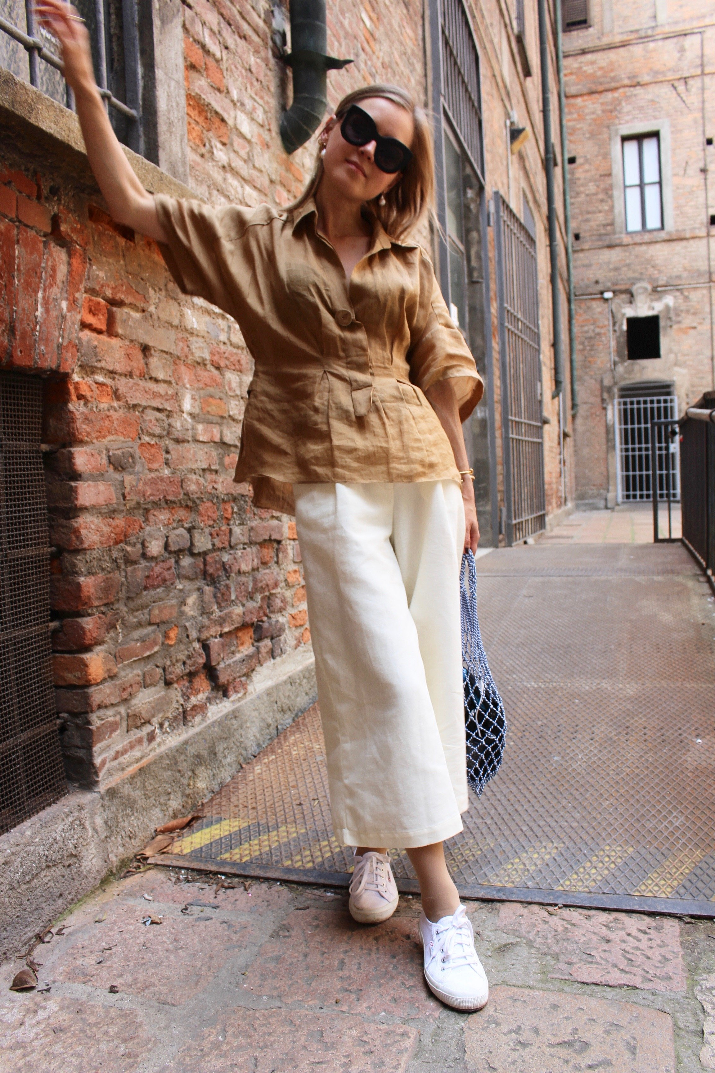 Finery London pants linen