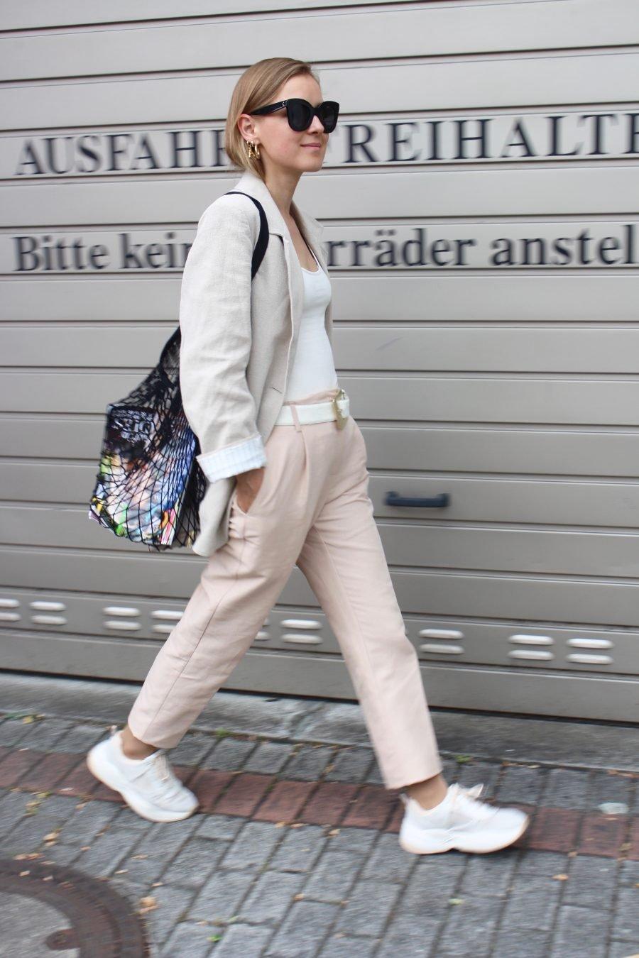 Stofftasche schwarz new trend 2018