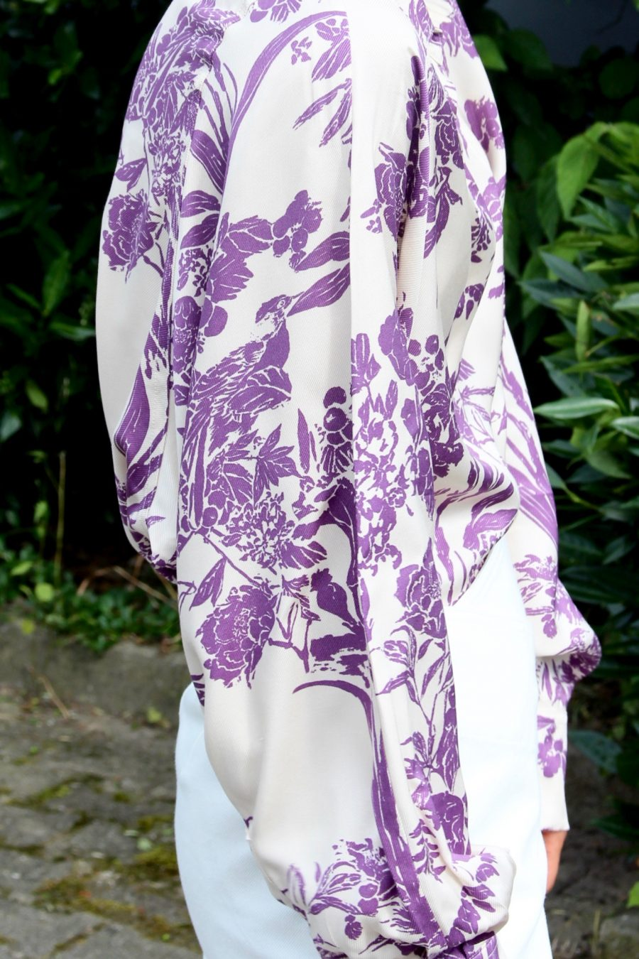 H&M trend Bluse floral