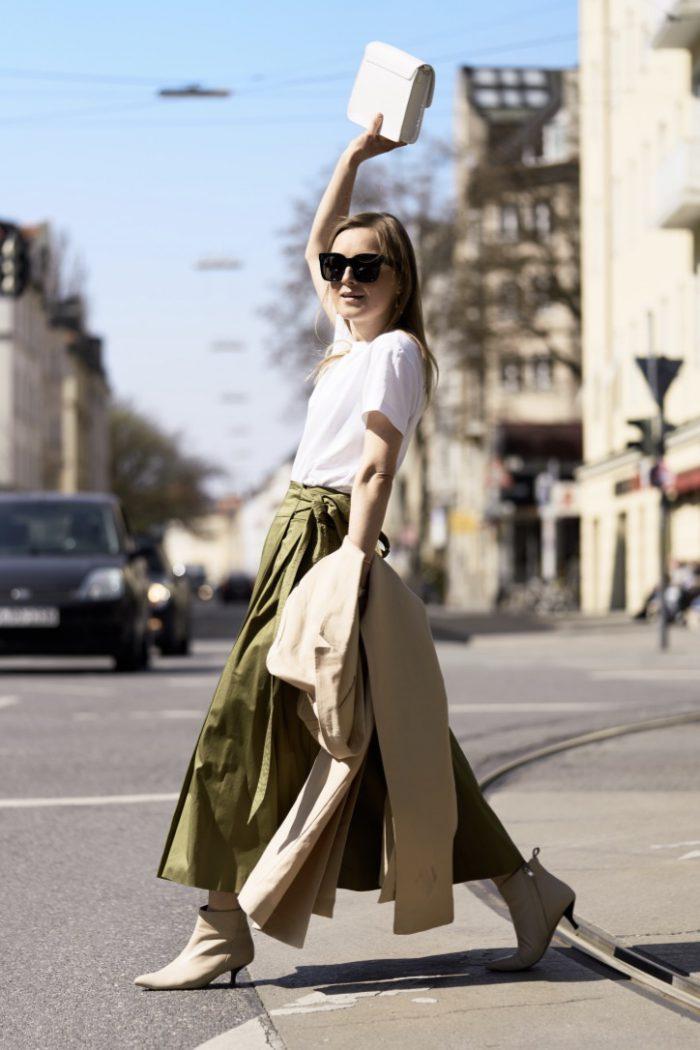 The Green IVY & OAK Skirt