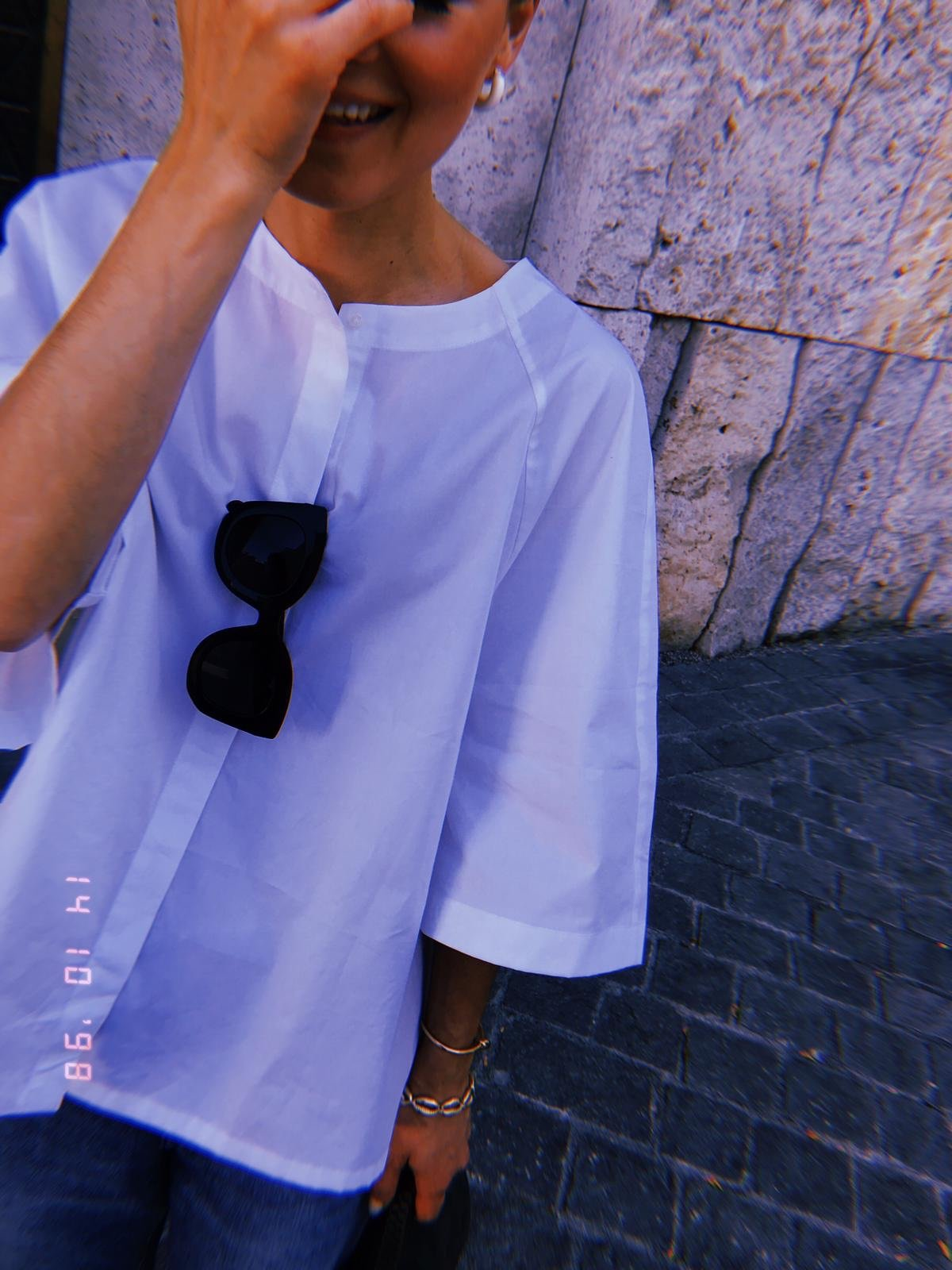 The Summer house India shirt white