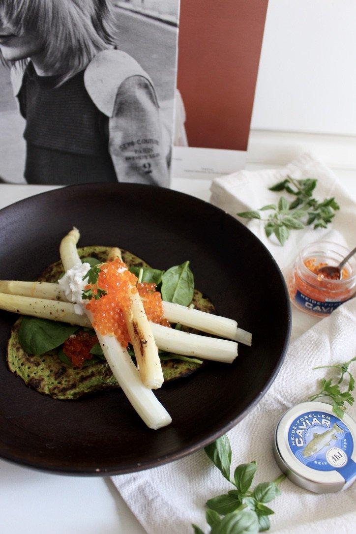 Asparagus with AKI – Caviar |03.05.2020