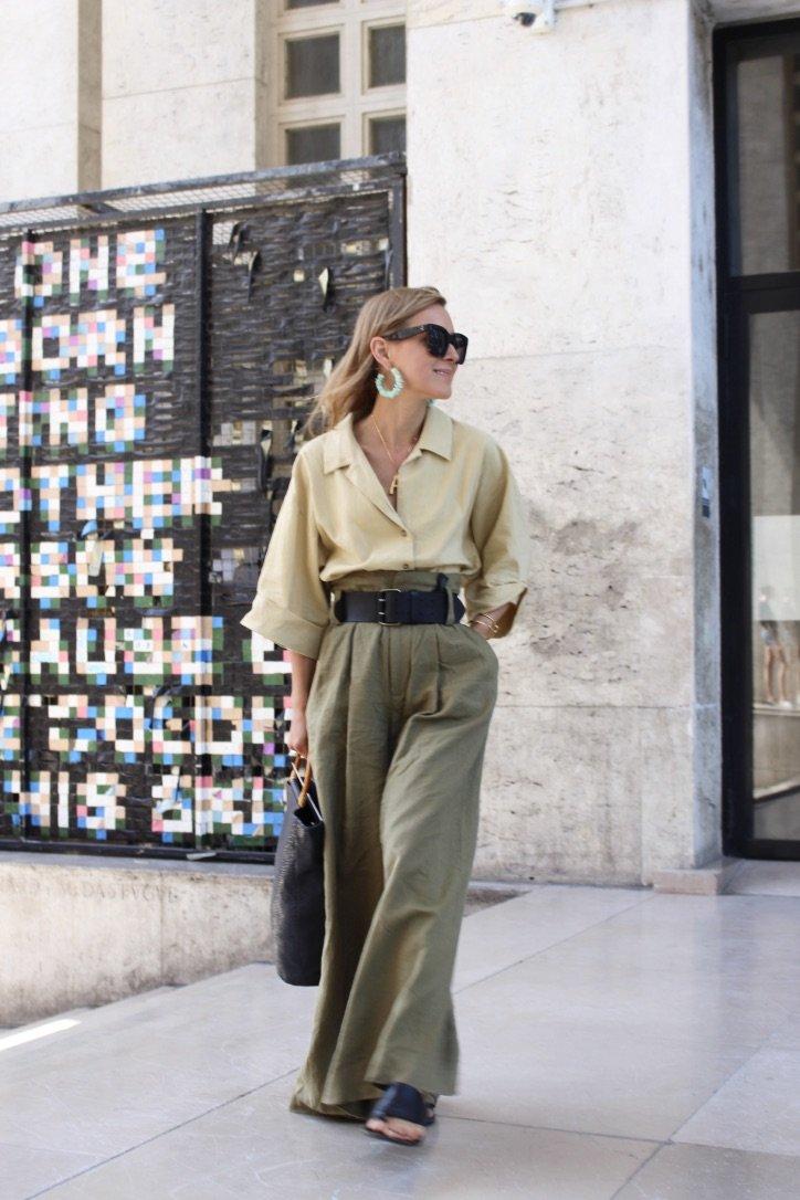The Green Linen Pants | 07.07.2019