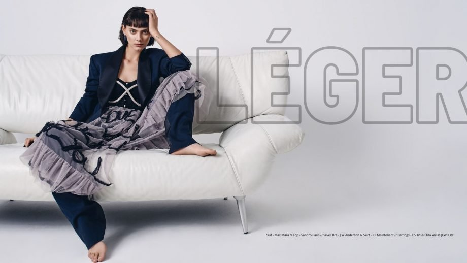 Léger, Editorial for FACES |04.12.2020