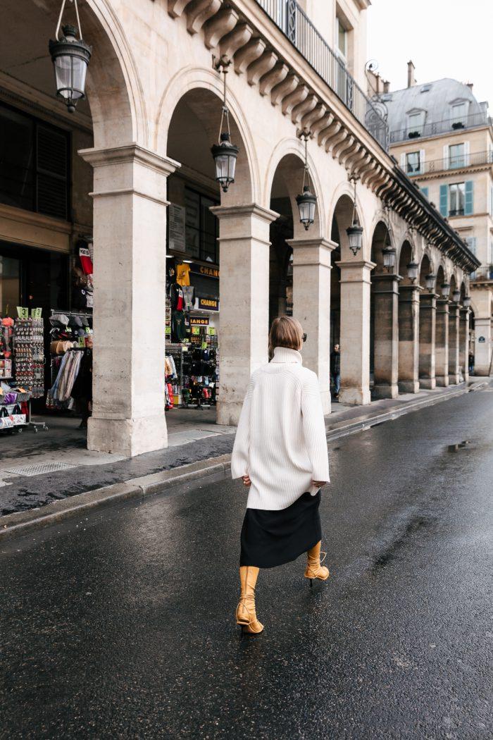 Céline lace boots yellow