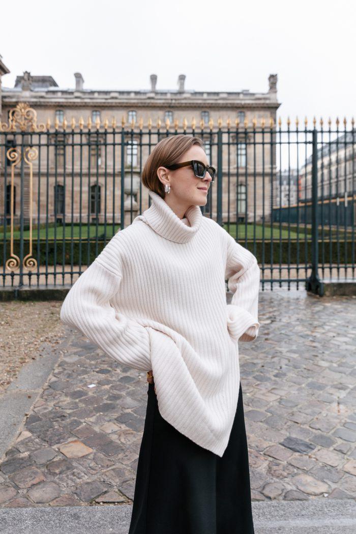 Beige Knitwear H&M Trend