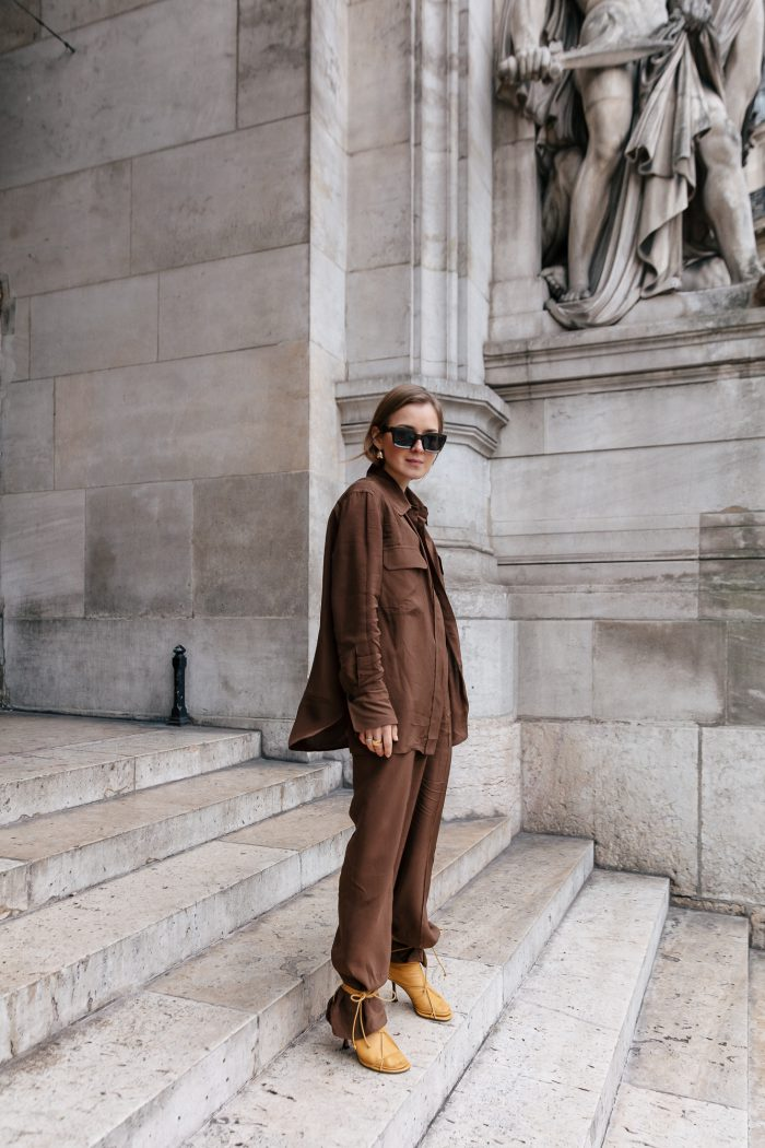 Brown Look zara women new collection 2019