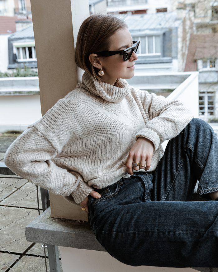 The Grey Denim Jeans