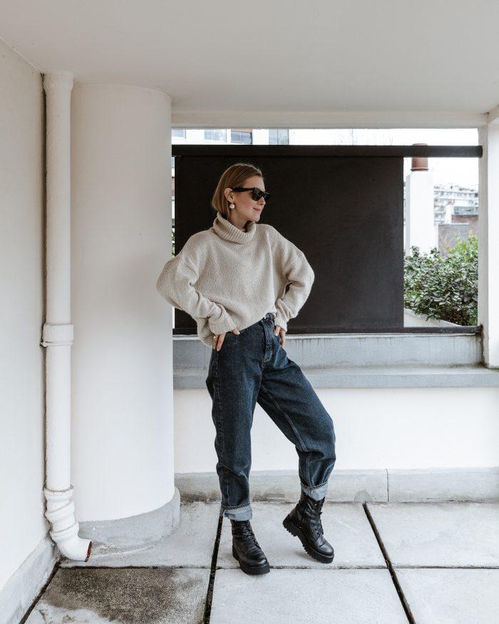 Sweater Céline beige cashmere