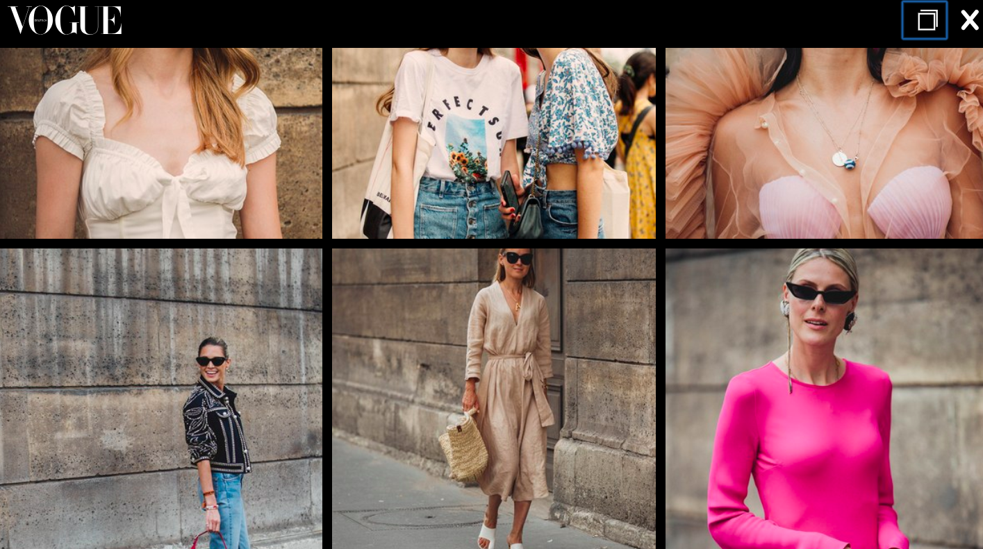 Vogue Germany, Haute Couture Street Style