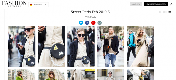Press Anna Borisovna Street Style 2019 Paris