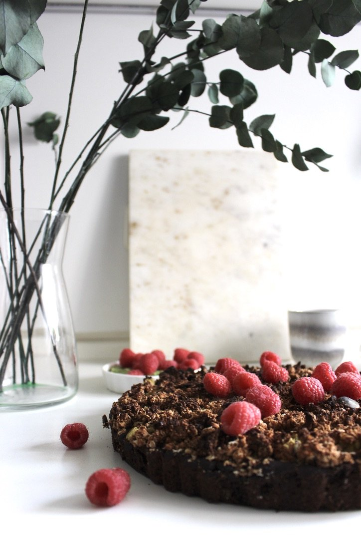 The Rhubarb Chocolate Cake | 01.05.2021