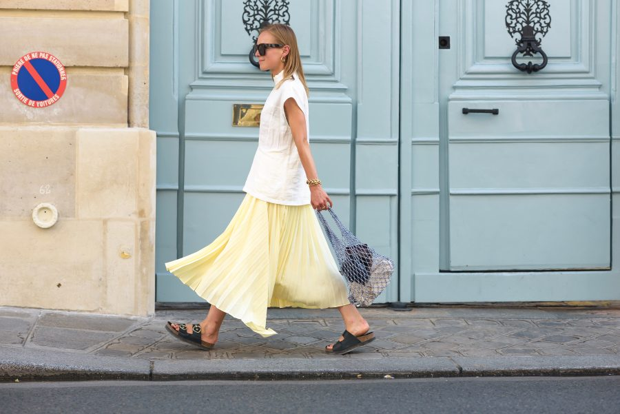 H&M Trend Skirt yellow