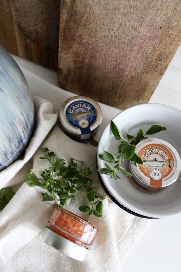 Zucchini Porridge with Caviar | 19.04.2020