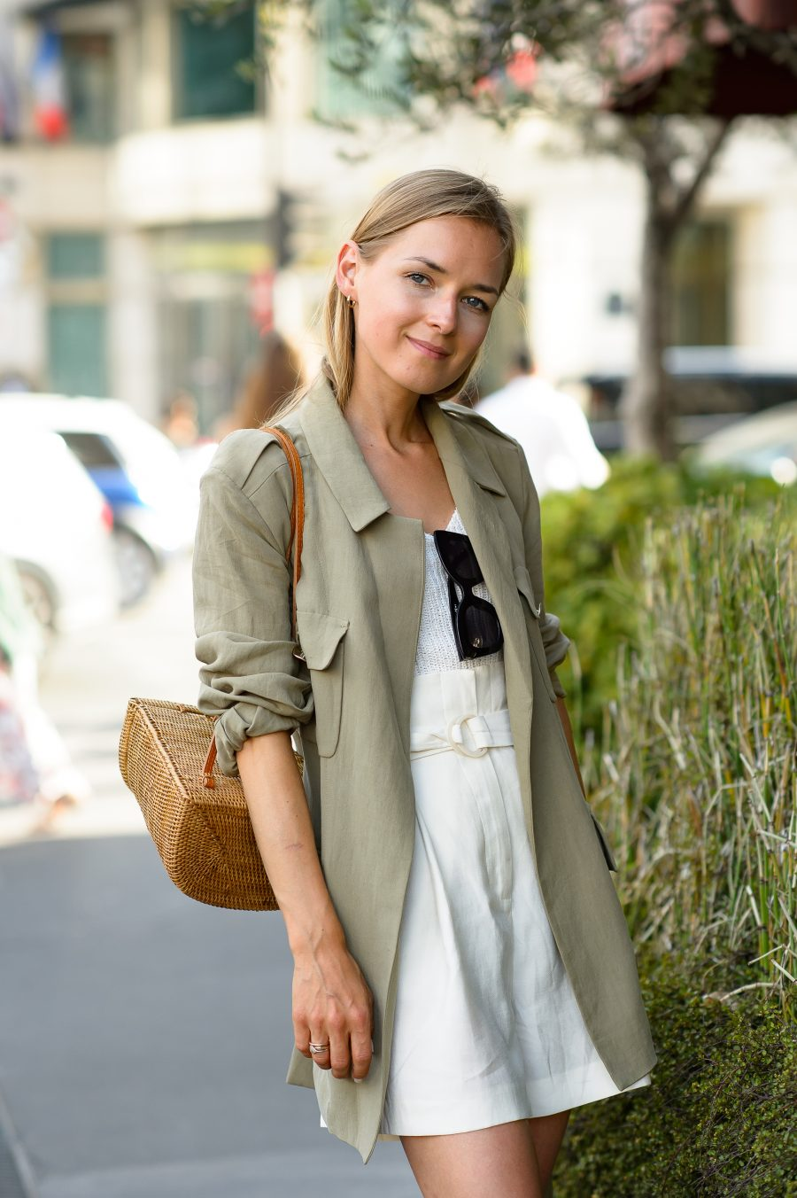 khaki jacket safari look 2018 mango