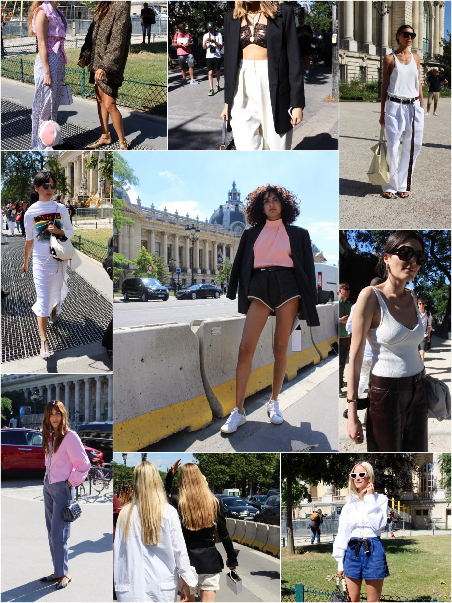 Street Style Paris Fashion Week Haute Couture AW2019/20, Day 3