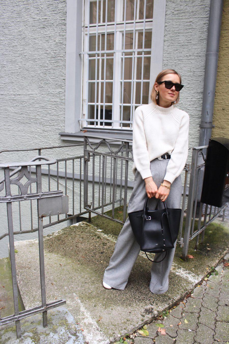 Céline leather Bag black