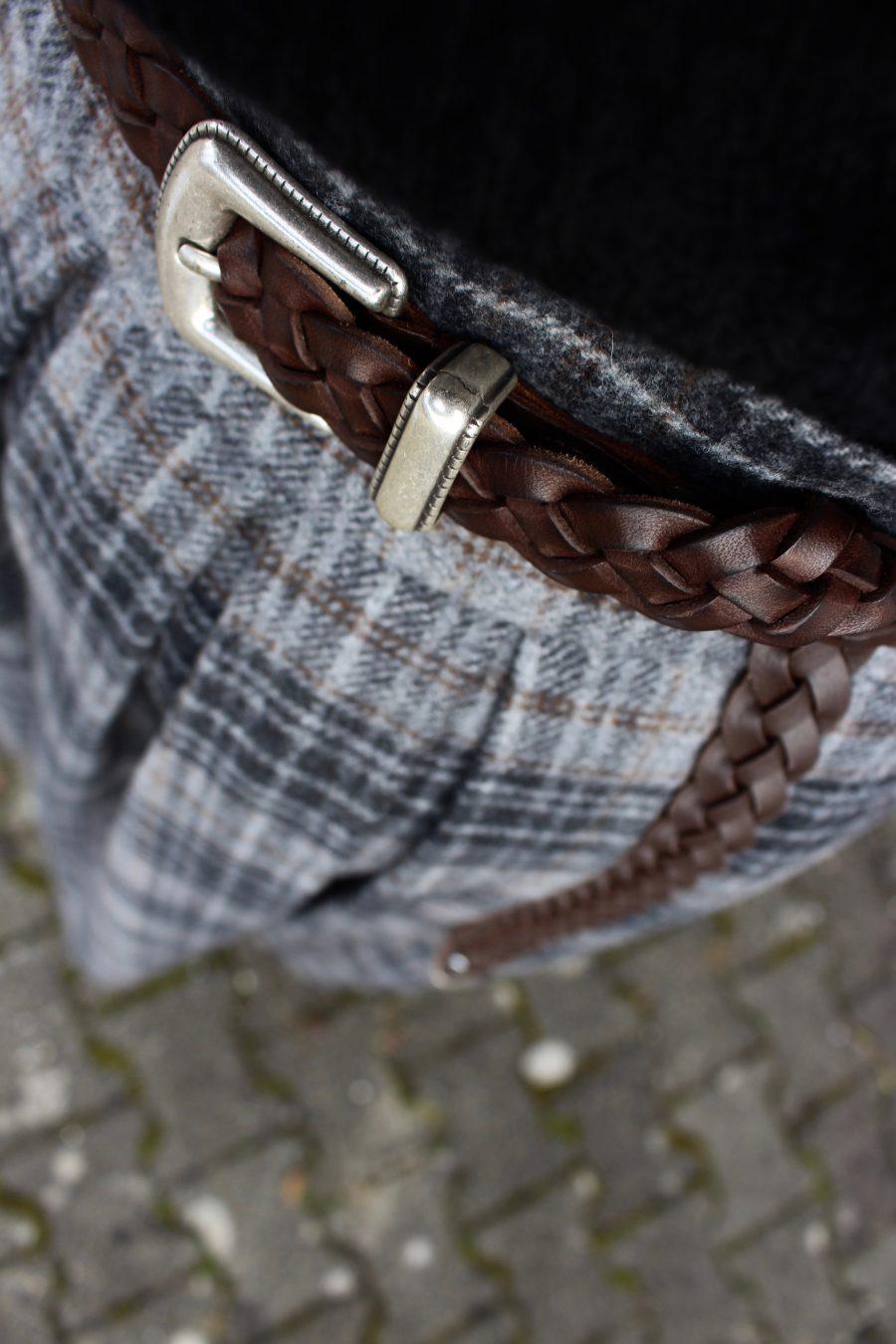 Massimo Dutti Leather Belt