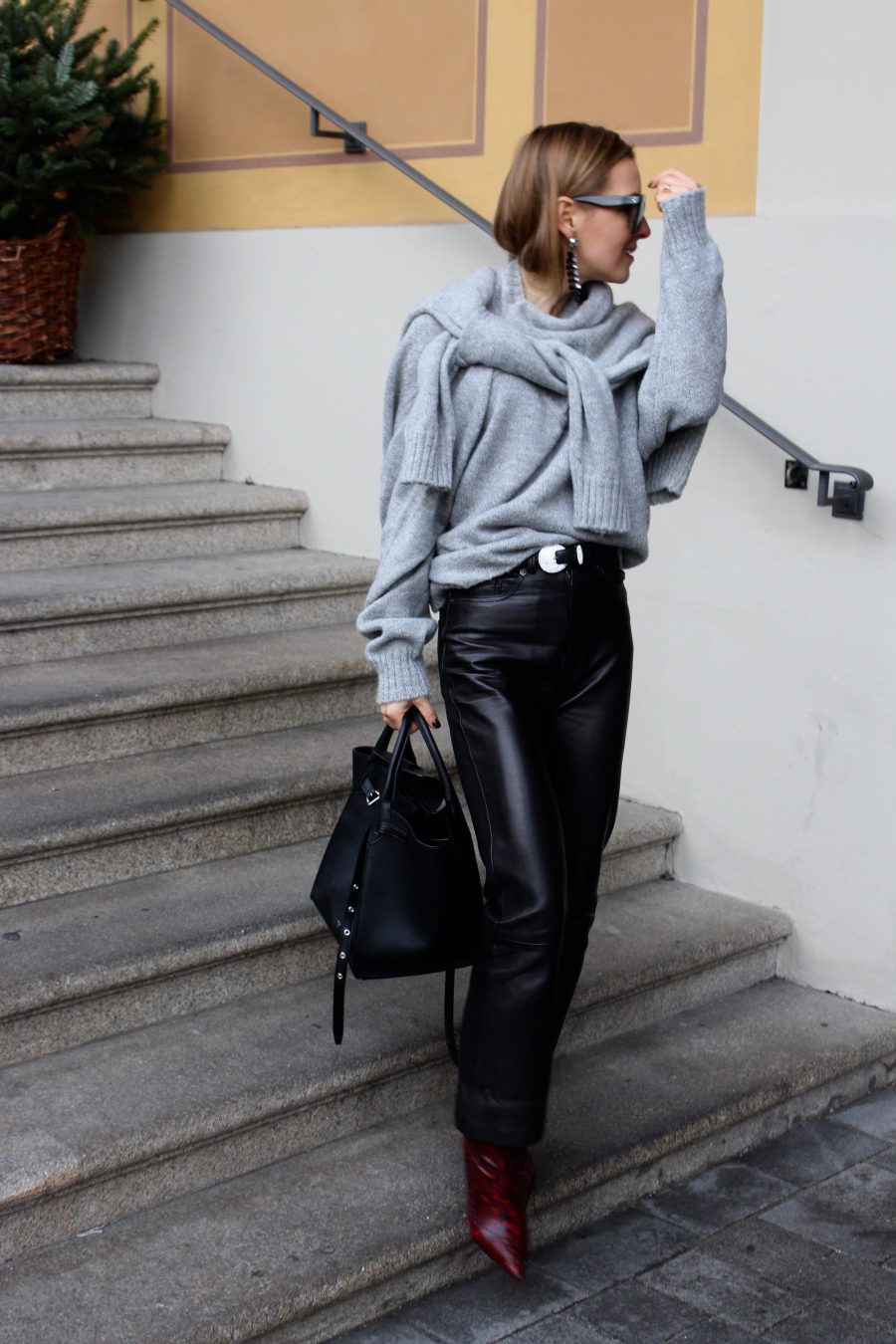 grey Céline sweater winter 2018