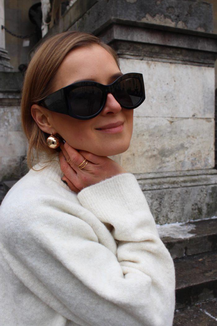 mango earrings gold