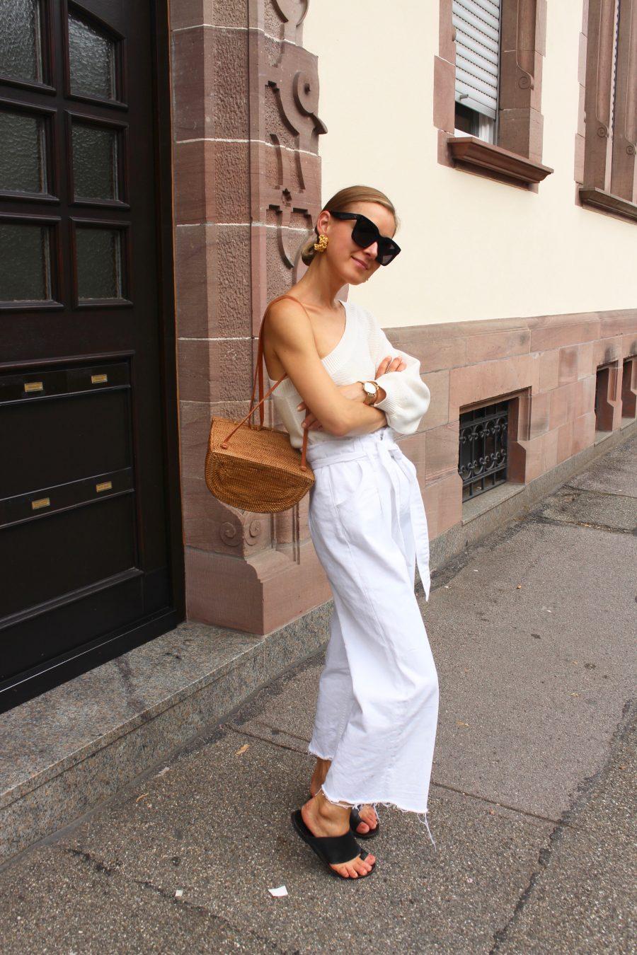 white denim jeans zara new collection 2018