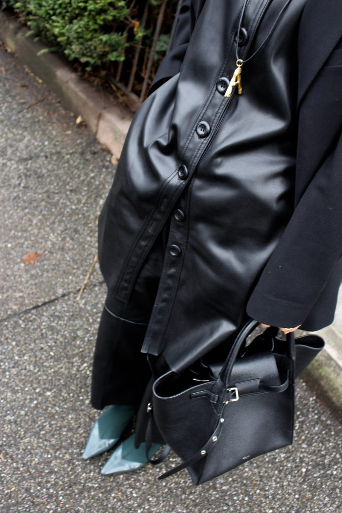 H&M Trousers Leather