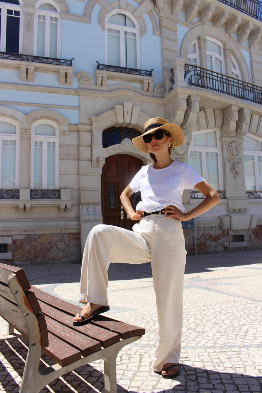 organic basic t shirts white