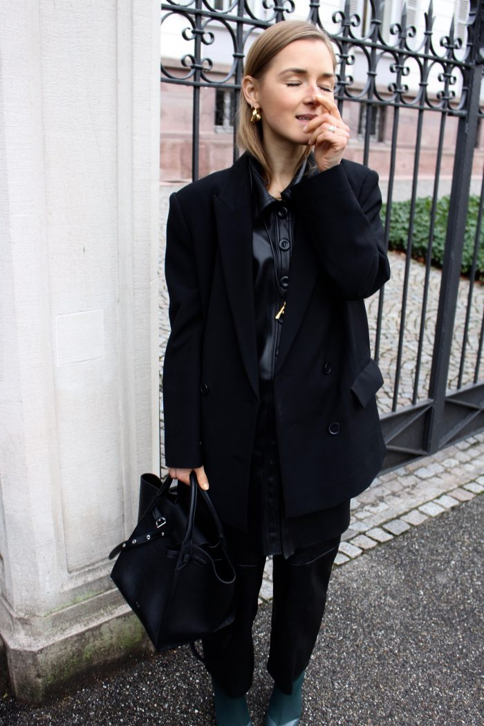 Céline leather bag black new collection 2018