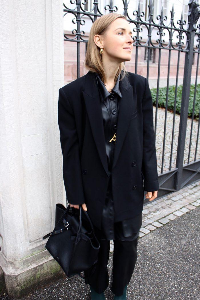 Leather Tunika Zara Céline 2018