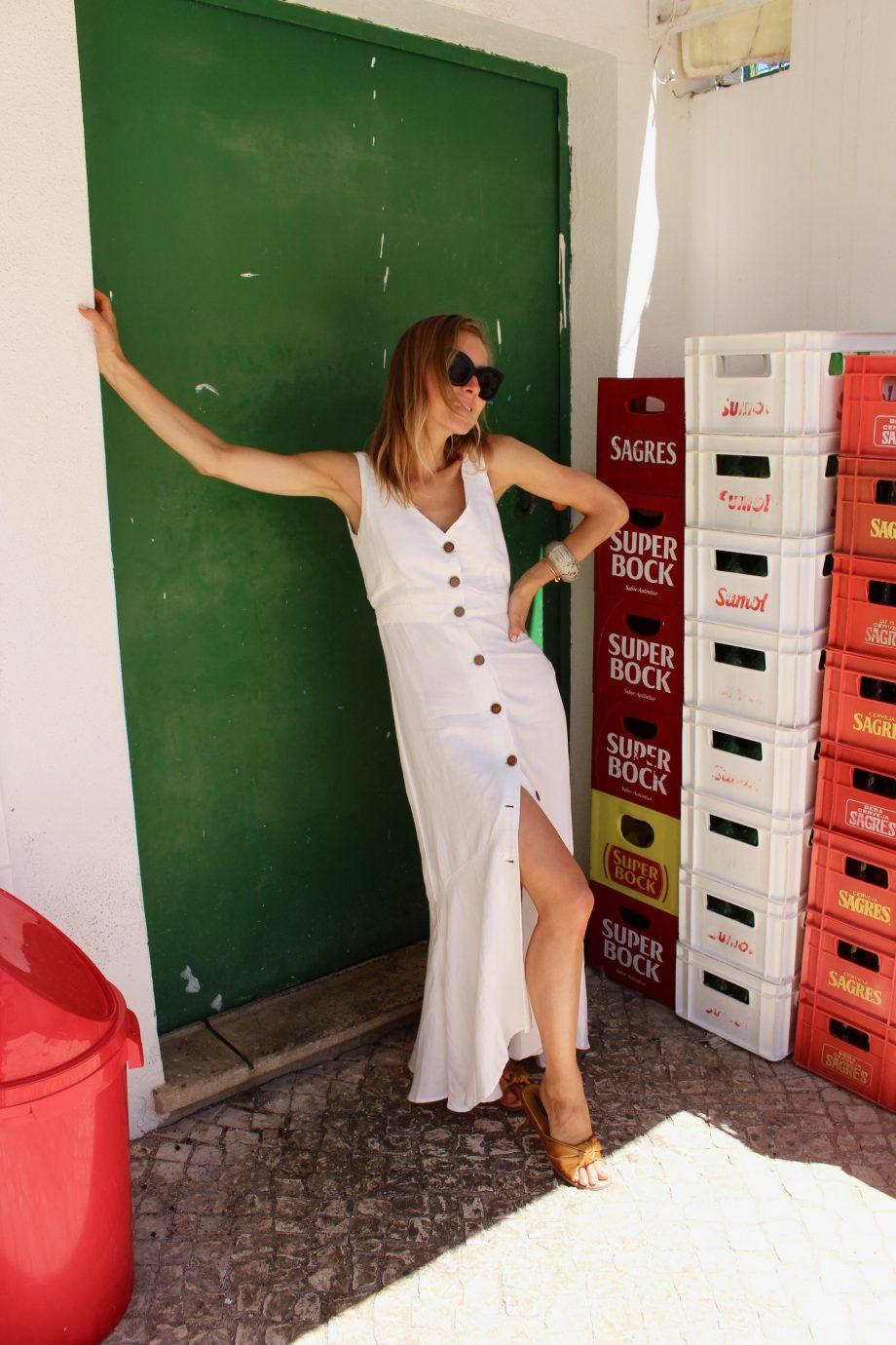 The White Linen Summer Dress |30.09.2018