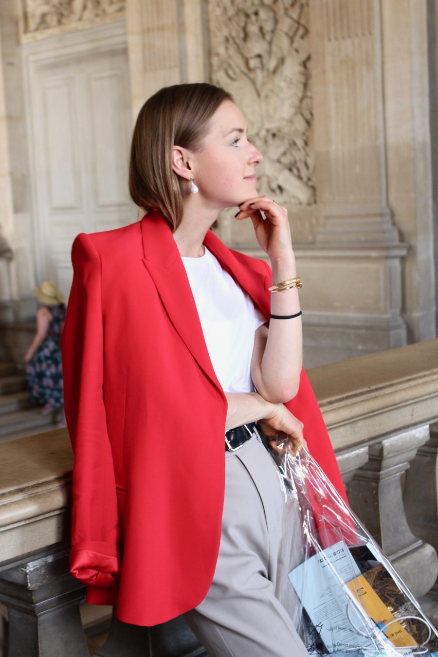 red jacket other stories H&M