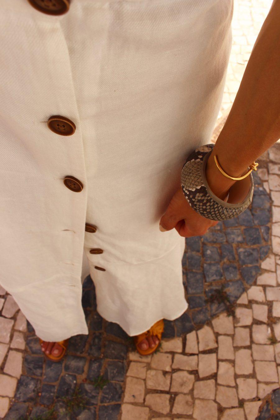 mango white summer dress fashion blogger