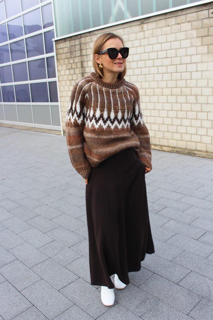 Mango jacquard knitwear