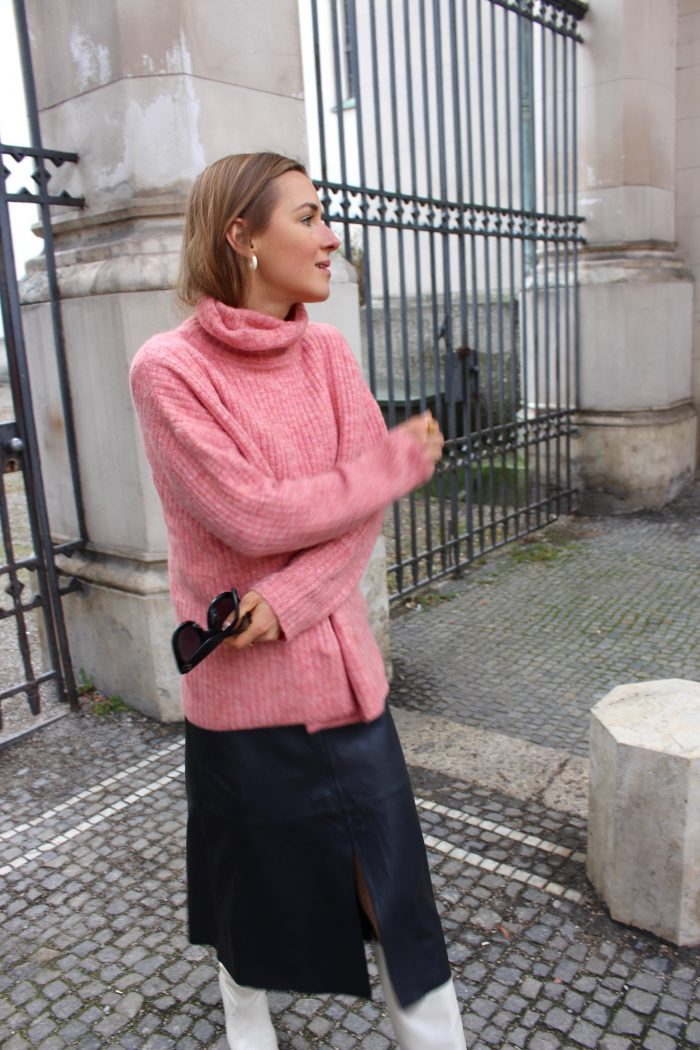 winter sweater massimo dutti fashion blogger style 2018