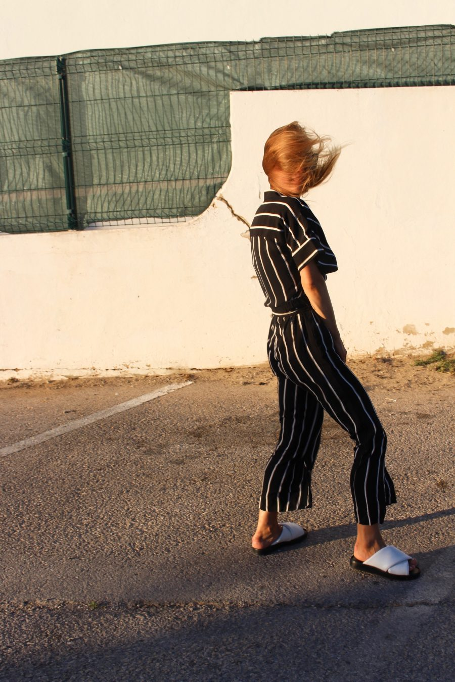 The Striped Jumpsuit H&M trend